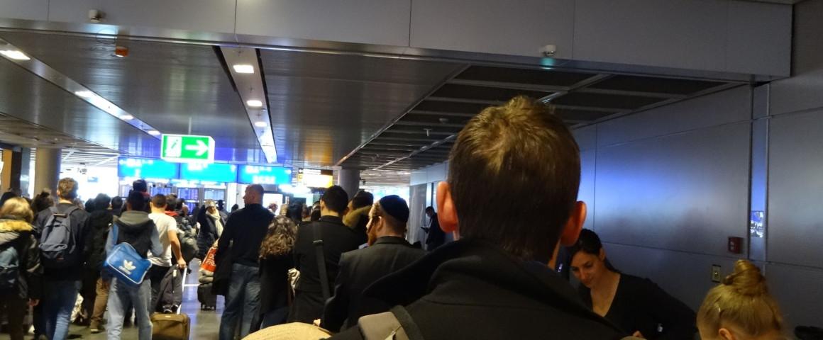 Sor a frankfurti repülőtéren
