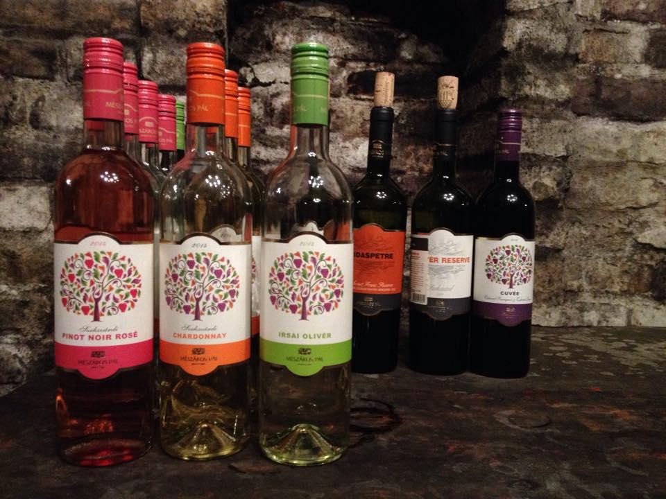 Szekszárdi borok, rozék - Mészáros pincésze