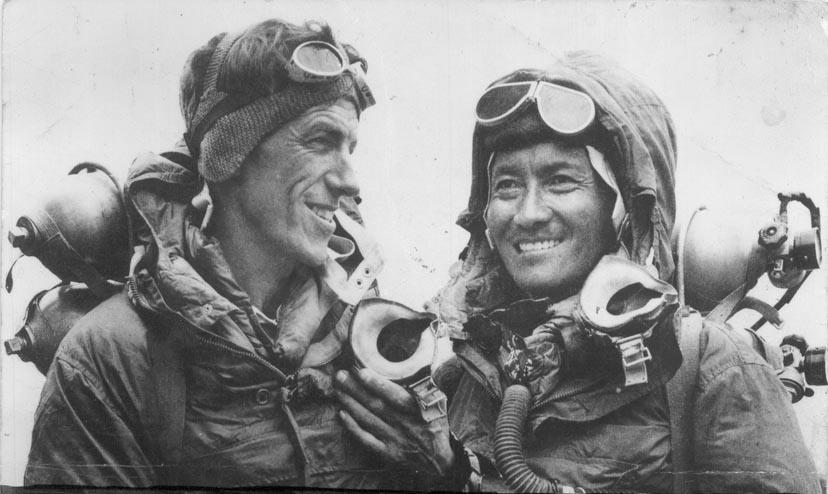 Edmund Hillary és Tenzinh Norgay