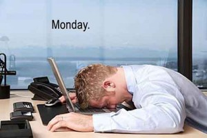Hétfő reggel a munkahelyen