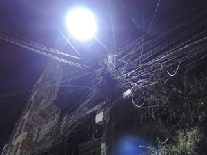 villanyoszlop-este